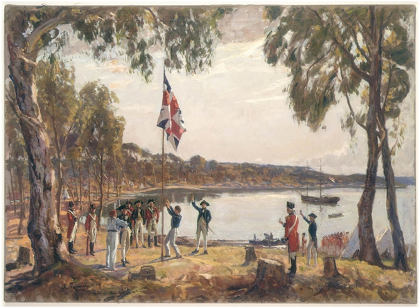 The European arrival in Australia